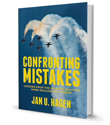 Book, Confronting mistakes